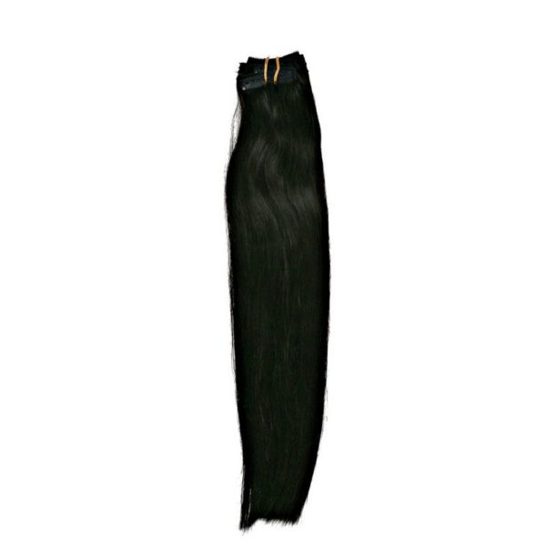 Jet Black Clip-In Extensions